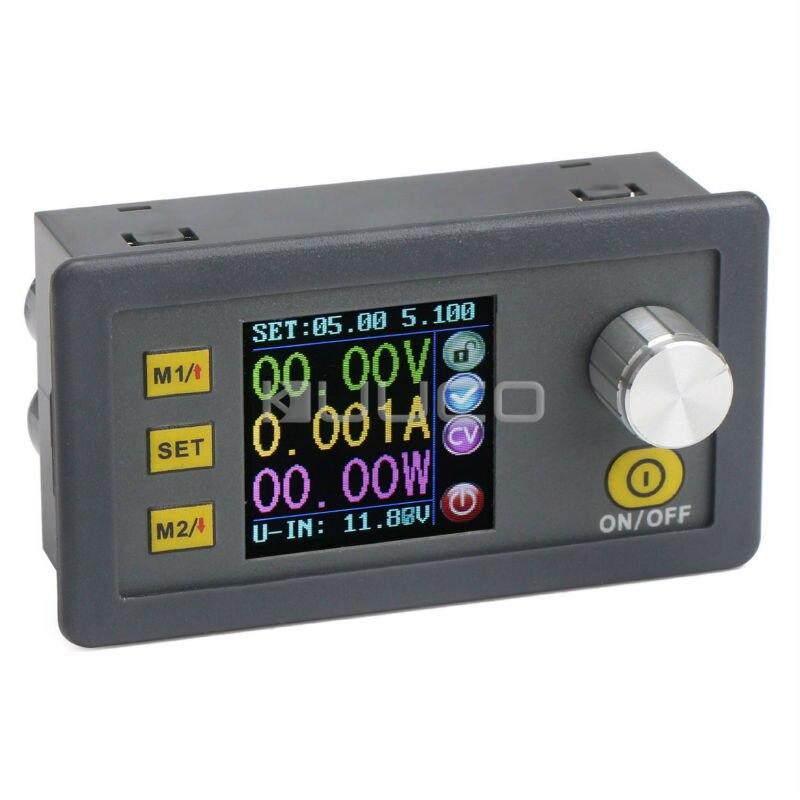 250W CNC Module d'alimentation DC 6 ~ 55V à 0 ~ 50V 5A contrôleur numérique régulateur de tension réglable/adaptateur + compteur numérique