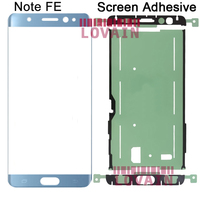 LOVAIN 10PCS Genuine Original For Samsung Galaxy N935 Note FE Fan Edition N935DS Touch Screen Outer