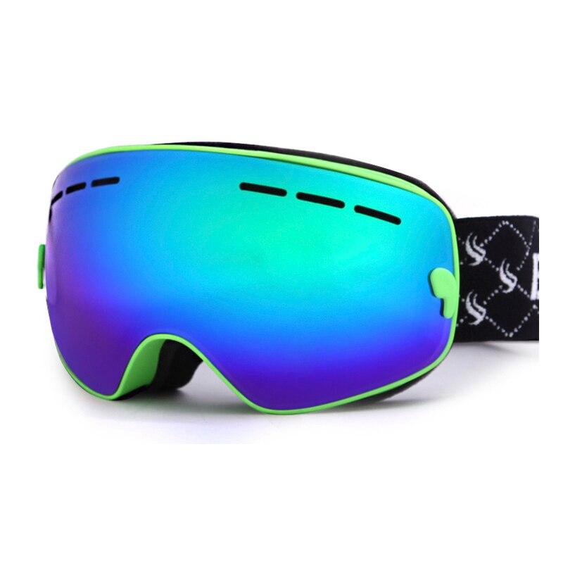Enfants Ski Lunettes Double UV400 Anti-brouillard masque lunettes ski Filles Garçons Snowboard lunettes