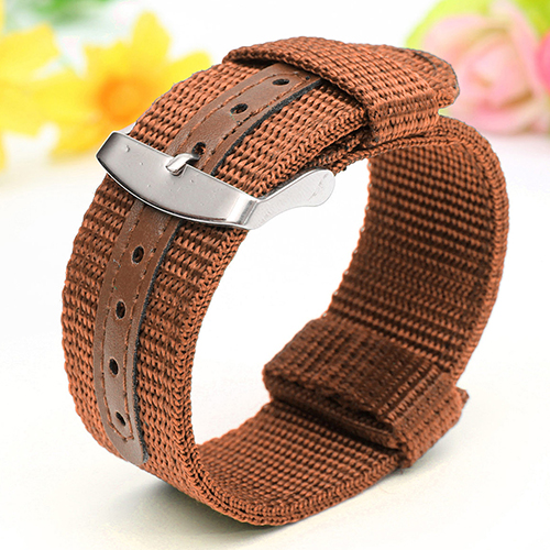 купить Military Army Nylon Wrist Watch Band 18mm 20mm 22mm 24mm Replacement Strap по цене 61.42 рублей