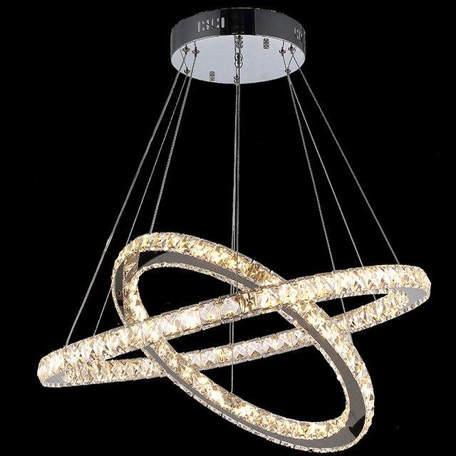 Moderne Kronleuchter Led moderne kronleuchter led kristall ring kronleuchter ring leuchte