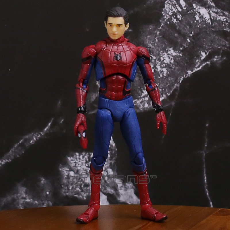 SHFiguarts Spiderman Homecoming Ver. PVC Action Figure Collectible Model Toy neca marvel legends venom pvc action figure collectible model toy 7 18cm kt3137