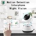 Главная IP Камеры Безопасности Wi-Fi Камеры Наблюдения Камеры 720 P Ночного Видения Motion Обнаружения P2P Камера Радионяня Pan Tilt зоопарк