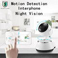 Home Security IP Camera WiFi Camera Surveillance Camera 720P Night Vision Motion Detection P2P Camera Baby Monitor Pan Tilt Zoo