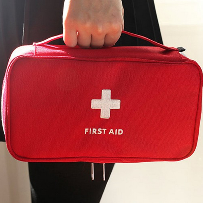 NOVO Kit de Primeiros Socorros de Emergência kits Médicos kit de Primeiros socorros saco de Carro À Prova D Água saco de Viagem Ao Ar Livre kit de Sobrevivência saco Vazio