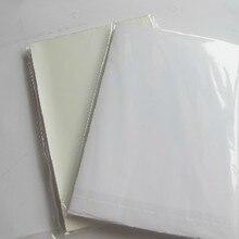 50 листов хорошая печать качество Водонепроницаемый самоклеющиеся A4 пустая белая виниловая наклейка этикеточная бумага для лазерного принтера-RJ0003
