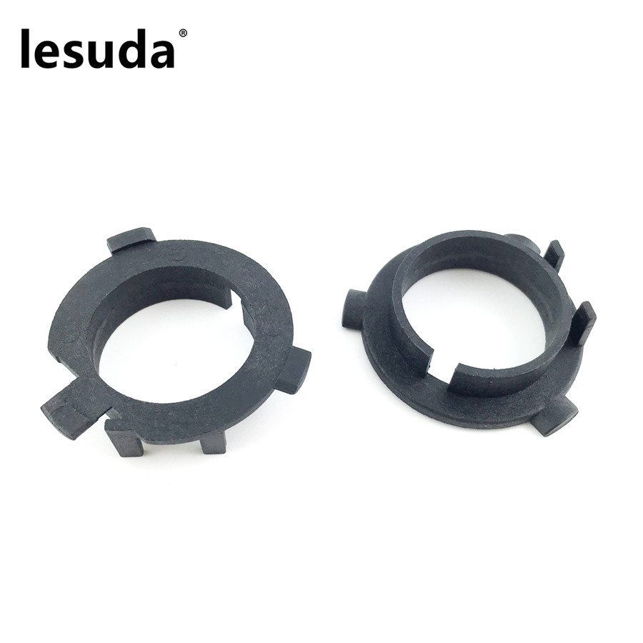 2pcs H7 LED Headlight Car Bulb Holder Adapter Socket For KIA K3 K5 Hyundai Mitsubishi Sorento Veloster Coupe Sonata New Santafe