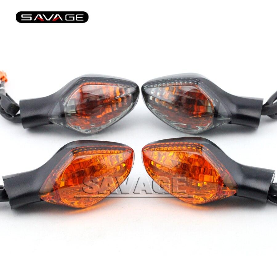 4x Motorcycle LED Turn Signal Light Fit For Honda CBR 125R 250R 300R 500R 650F