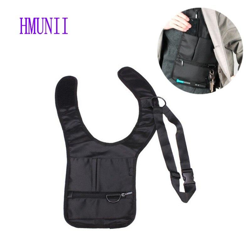 Mode coole Männer Mittel Aufbewahrungsbeutel Achsel Umhängetasche Schulter Crossbody MP3 Handy Schlüssel Geldbeutel Reisetasche Unterarmtasche