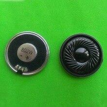 10 шт./лот 2w8R DVD маленьких спикер 2 Вт 8ohm HiFi внешнего магнитного труба диаметром 40 мм Тонкий динамик
