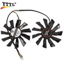 Power Logic PLD10010S12HH DC 12V 0.40A 95mm Video Card Fan For MSI R9-290X R9-280X R9-270X R7-260X Twin Frozr Graphics Card Fan