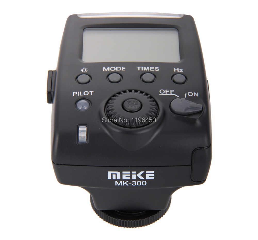 MEKE Meike Mini TTL LCD Flash Speedlite lumière MK 300 P pour les appareils photo reflex numériques Panasonic Olympus