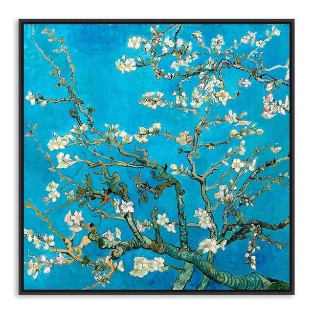 Famous Impressionism Vincent Van Gogh works Almond Blossom Canvas ...