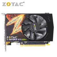 ZOTAC Video Card GeForce GTX650Ti 1GD5 128Bit 1GB GDDR5 Graphics Cards For NVIDIA Original Map GTX