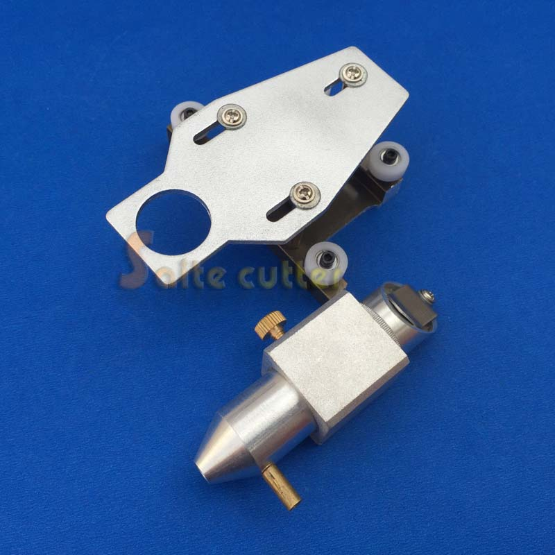 HQ Aluminum Laser Head for CO2 Laser Rubber Stamp Cutting Engraving Machine K40 DIY 3020 3040 40W 50W Tube Parts