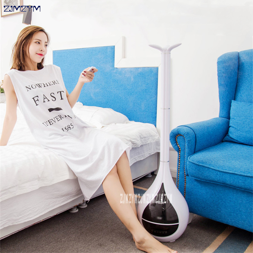 6L floor humidifier home mute large capacity bedroom, pregnant woman, infant indoor air, humidity and fragrance machine floor style humidifier home mute air conditioning bedroom high capacity wetness creative air aromatherapy machine fog volume