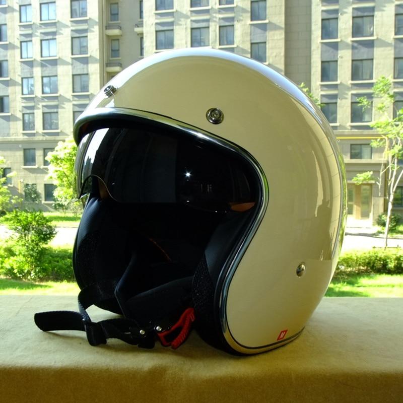Hot sale Vcoros brand casque moto capacete motorcycle helmet vintage helmet high quality 3/4 open face scooter helmets DOT 1000m motorcycle helmet intercom bt s2 waterproof for wired wireless helmet