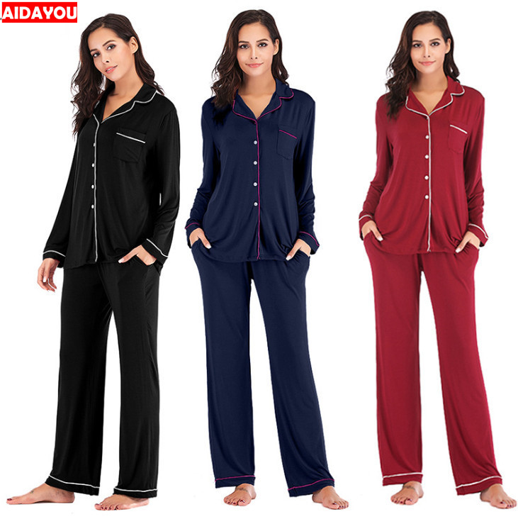 Detail Feedback Questions about Winter Pajama Sets 2 Pieces Women Lounge  Suit Velvet Elastic Long Sleeves Stretch Sleepwear Pants Tops Satin Plus  Size ... 97f280506