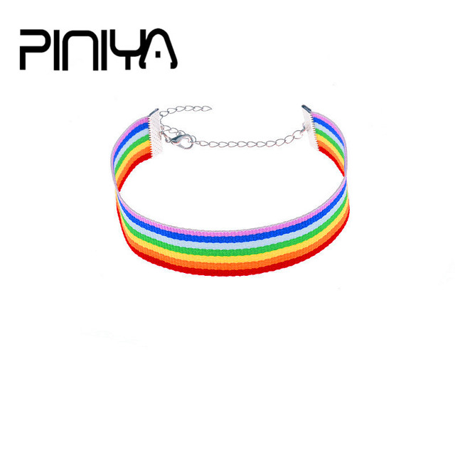 Lovely Color Webbing Anklet for Women/Men/Lovers/Child Bohemian Ankle Bracelet Foot Cheville Boho Jewelry Beach Accessories Lgbt