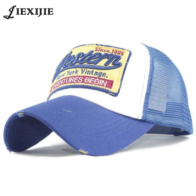 18d89b692b5 Summer Bun Horse Tail Snapback Hat Women s Baseball Cap Casual Hats Sport  Adjustable Embroidery Visor Caps for Men Hip Hop Hat