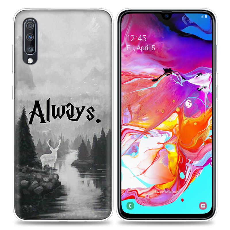 Tutto Questo Tempo di Sempre per il Caso di Samsung Galaxy A50 A70 A80 A60 A40 A30 A20 A10 A71 A51 A50s A7 a9 2018 TPU Sacchetti Del Telefono Capa