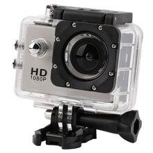 Для gopro hero 3 стиль Full HD DVR SJ4000 видео Спорт камеры Спорт Шлем Действий Камеры Водонепроницаемый Д. в. Два аккумулятора + монопод