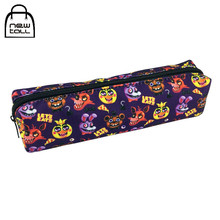 FNAF Five Nights at Freddy's School Canvas Makeup Case Pencil Case Cosmetic Bag(China)