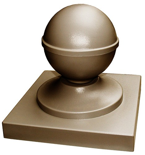 Plastic molds for concrete cap Fence Cover Pillar CAP Ball for garden Plaster Stone Tiles ABS