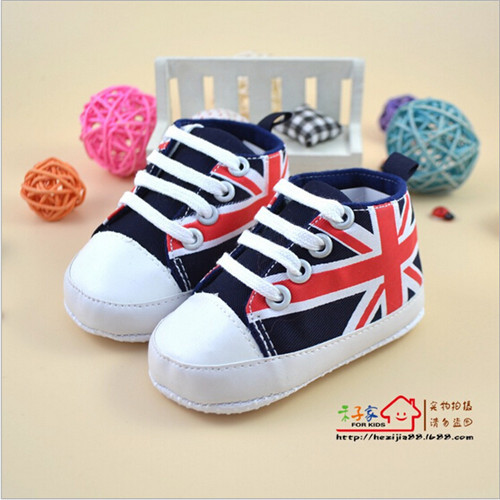 Hot Sale High Quality Soft Bottom Baby Shoes Infants Girl Boy Sport Shoes Sneaker Toddlers First Walkers