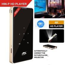 H96-P projetor 4k dlp projetor ansi lumen mini android bolso h96 projetor wifi 2.4g & 5g 2g 16g amlogic s905 bt4.0 teatro