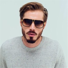 New Fashion Big Frame Sunglasses for Men