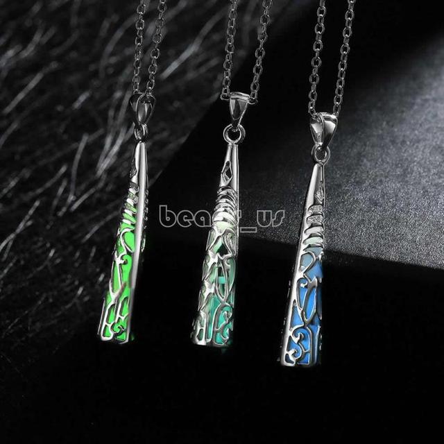 Jewelry NecklaceCostume jewelry Zinc Alloy with Fluorescent Powder Stone Cone & Jewelry NecklaceCostume jewelry Zinc Alloy with Fluorescent ...