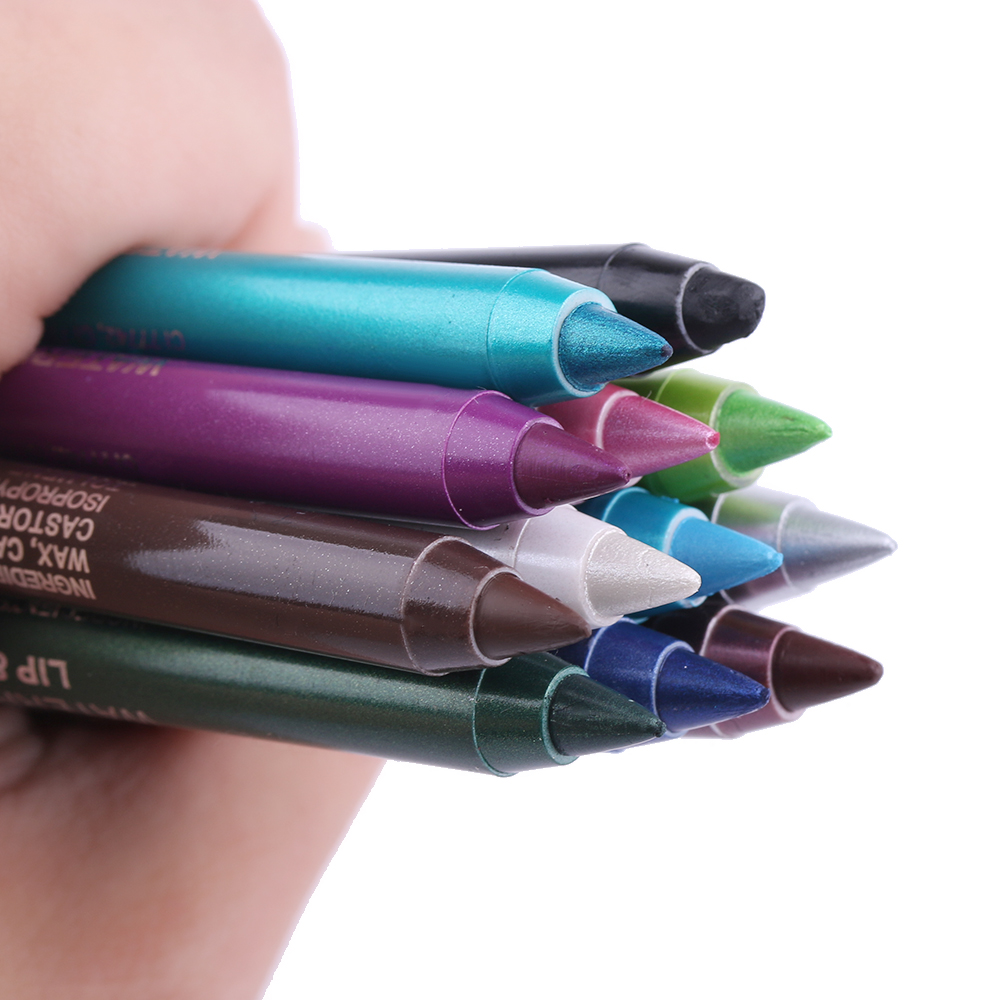 1Pcs Longlasting Eye Liner Pencil Pigment Waterproof White Color Eyeliner Makeup Beauty Tools