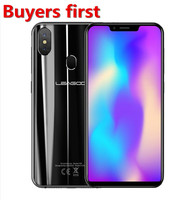 Original LEAGOO S9 19:9 5.85 HD smartphone RAM 4GB ROM 32GB Android 8.1 MT6750 Octa Core 13.0MP 4G LTE Face ID OTG Mobile Phone