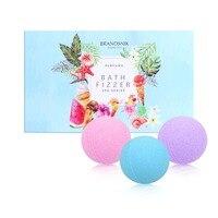 16Pcs Organic Bath Bombs Body Essential Oil Natural Bubble Bath Bombs Ball rose lavender Ocean Bathing Salt Ball Stress Relief