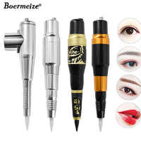 Boermeize Tattoo Permanent Makeup Pen Machine Eyebrow Makeup Eyebrow Lip Tattoo Machine Swiss Motor Pen Gun