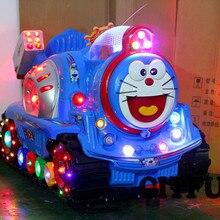 Горячая Doraemon автомобиль с монетным управлением детская езда на продажу CIT-KR044