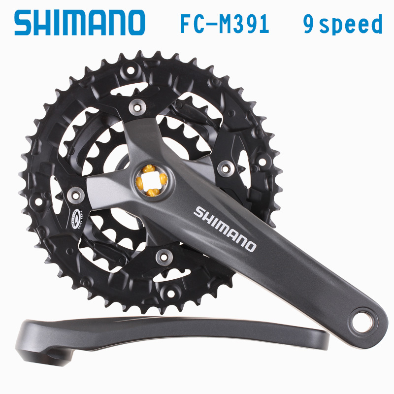 SHIMANO ACERA FC-M391 Acera 9S 27S Crankset Bicycle Components MTB Mountain Bike Chain Wheel Accessory qcyber dominator qc 03 003dv01