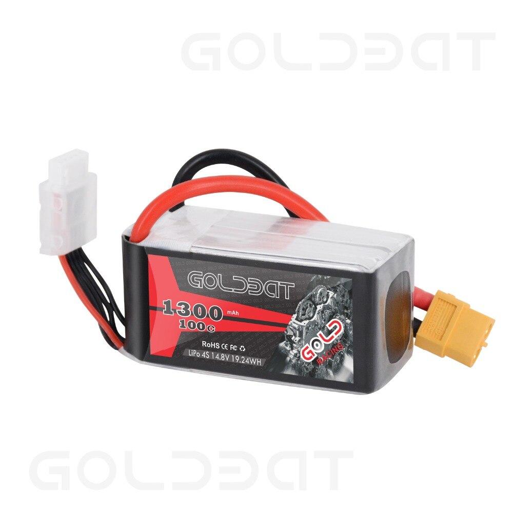 Goldbat Akkupack LiPo Plus 1300mAh 14,8V 19,24WH