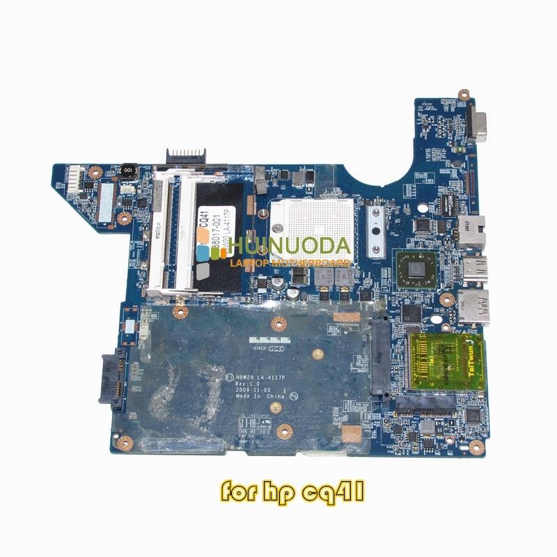 ФОТО NBW20 LA-4117P 588017-001 Laptop motherboard for HP CQ41 DDR2 Mainboard