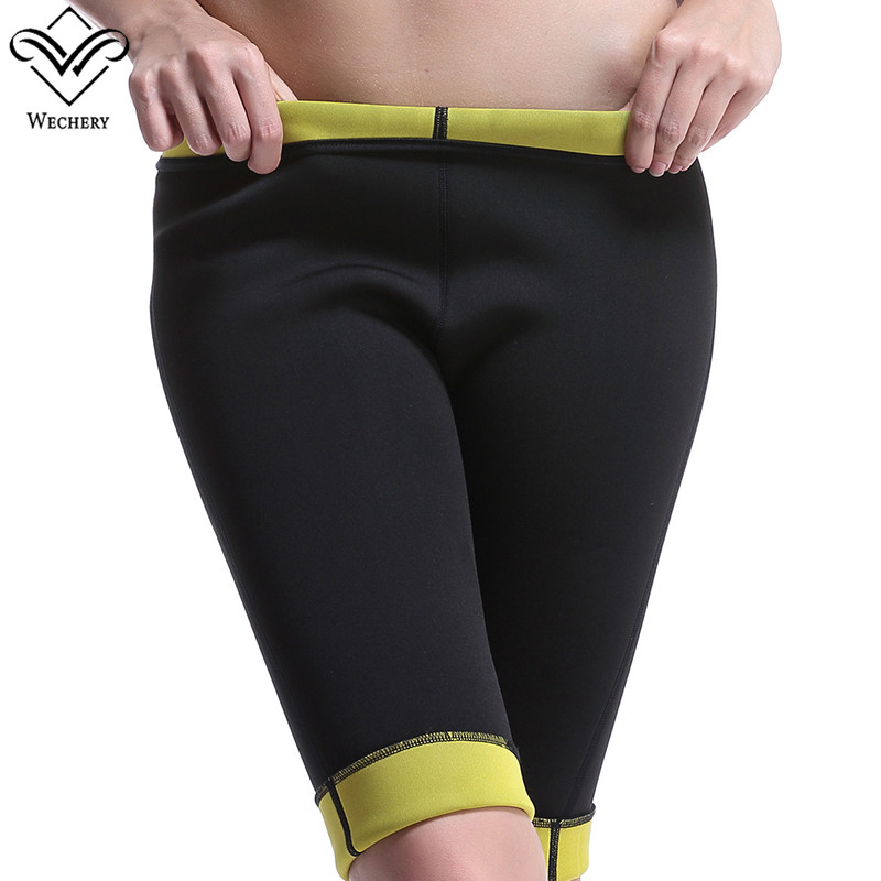 Wechery Hot Shaper Pants Slimming Shorts for Women Neoprene Body Shaper Pants Slimming Underwear Corsets for Sweat Waits Butt