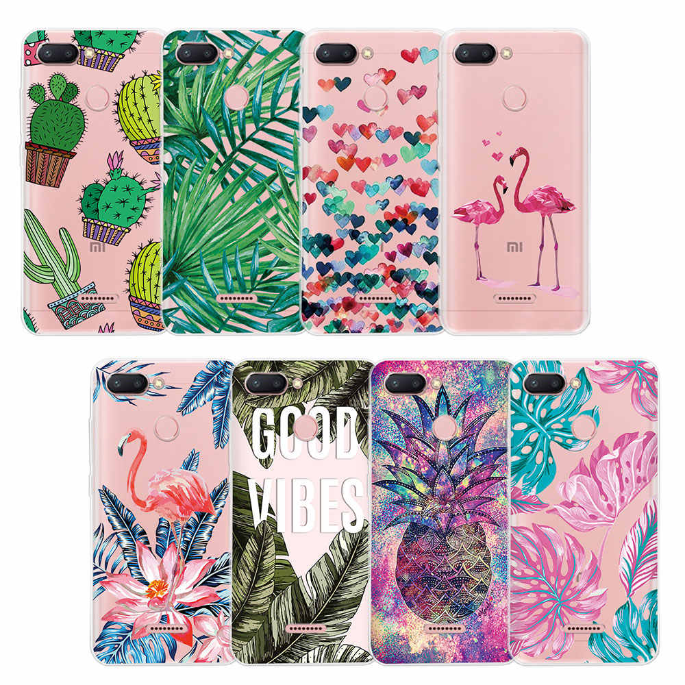 Patterned Case for Xiaomi Mi8 Mi9 SE Mi A1 A2 Soft TPU Back Cover Cartoon Shell For Xiaomi Mi9 explorer Mi 5X 6X Silicone Case