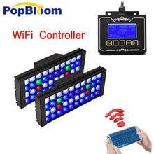 PopBloom умная Светодиодная лампа для аквариума светать Риф Танк аквариумный светодиодный фонарь майка с smart регулятор мощности света MH3BW2
