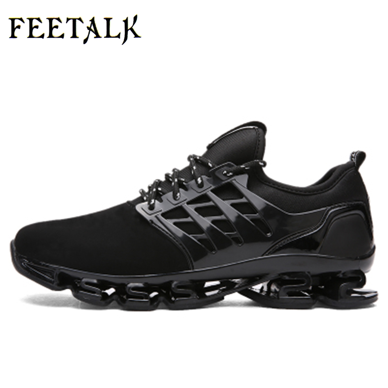 Pria olahraga sepatu lari, Rhythm musik sepatu pria, Mesh bernapas, - Sepatu kets - Foto 2