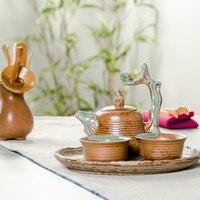 Tea cup Chinese Longquan Celadon Porcelain China Teacups and Saucer Tea Bowl Golden China Tea Pot Celadon Teacups Crafts B017
