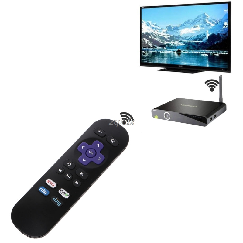 Replacement Remote Control for ROKU 1 2 3 4 LT HD XD XS with 4 Shortcut Button Z16 Drop ship