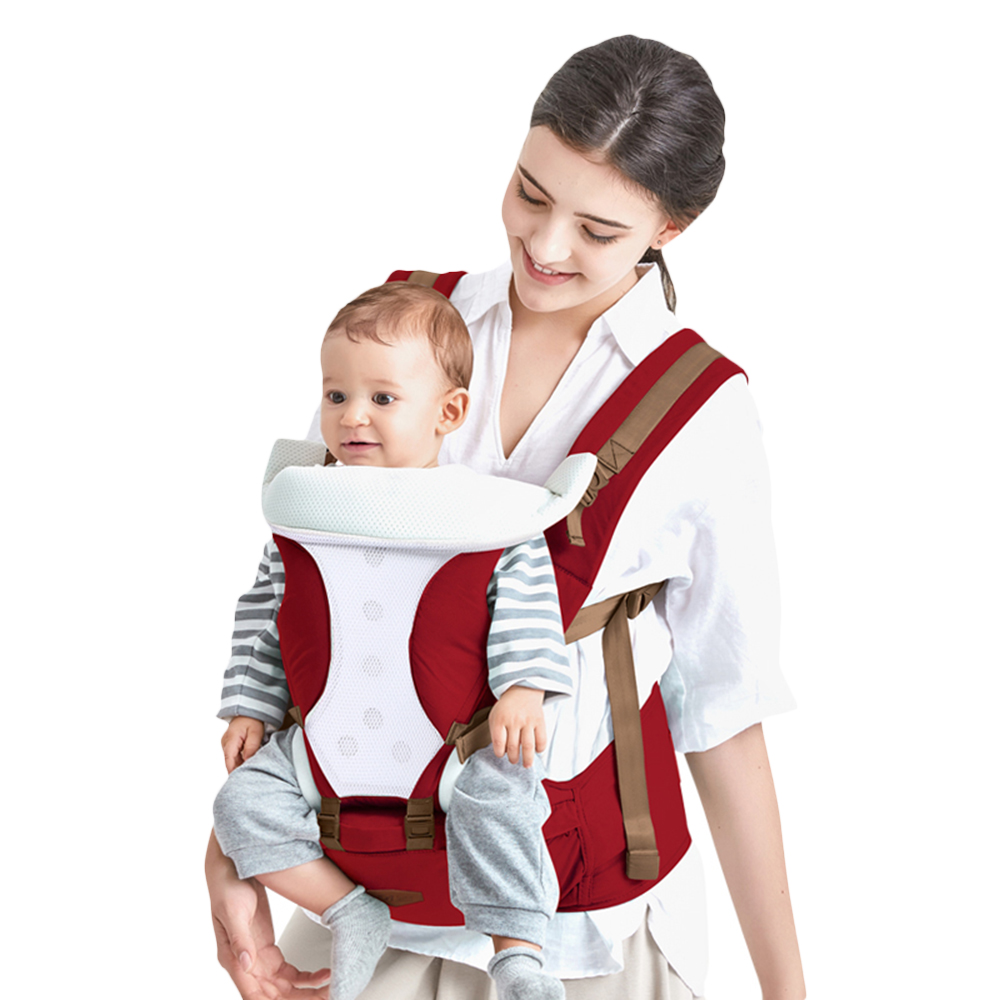 15ba62b08bc BethBear Multifunctional Breathable Kangaroos Belt Backpack Infant Sling  Carrier HipSeat Baby Carrier Pouch Wrap For All