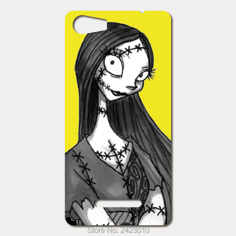 For Wiko Lenny 2 Sunset 2 Pulp 4G Ridge 4g Rainbow Jam High Quality phone cases Hard PC halloween sally yellow Patterned Cover