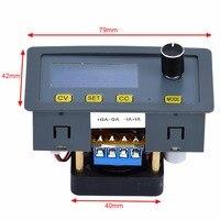 Adjustable 5A Digital Step Down Power Supply Module Regulator 6V 32V To 0 32V Fan With