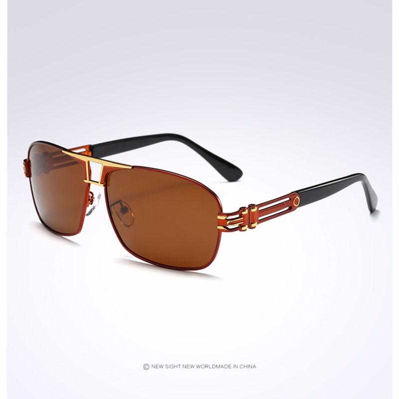 Roupai Polarized Super Cool Military Glasses For Police Driving Mens Square Anti Glare Sunglasses UV400 377 (6)